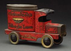 English Tin Litho Macintosh's Candy Container