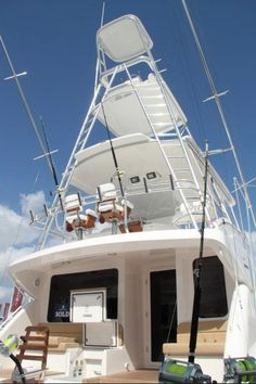 Bertram 64 at the 2012 Ft. Lauderdale International Boat Show #FLIBS #sportfishing #yacht #luxury
