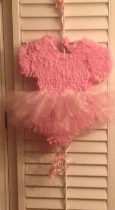 Ballerina Tutu Piñata for my little dancer's Birthday Party