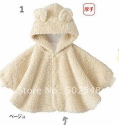 molde poncho tecido bebe - Pesquisa Google