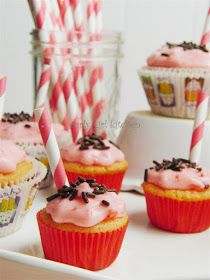Curly Girl Kitchen: Cherry Vanilla Soda Cupcakes, and a little more Valentine's...