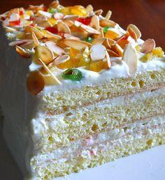Sicilian Ricotta Cake/Cassata siciliana