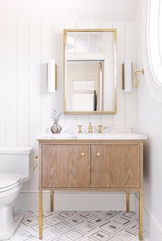 love this small vanity with storage