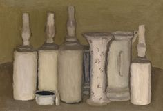 View Natura Morta by Giorgio Morandi on artnet. Browse upcoming and past auction lots by Giorgio Morandi. Italian Painters, Italian Artist, Kenneth Noland, Simple Subject, Still Life Artists, Jeff Koons, Museum Of Modern Art, Art World, Art Lessons