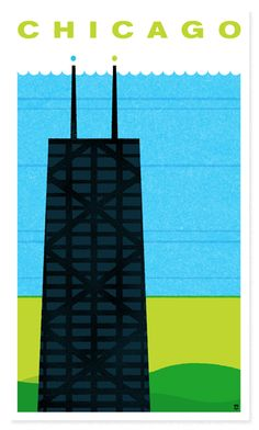 Chicago Poster, Heads of State, $30