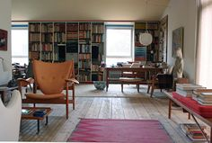 """""""I would be most content if my children grew up to be the kind of people who think decorating consists mostly of building enough bookshelves."""" ~Anna Quindlen, """"Enough Bookshelves,"""" New York Times, 7 August 1991."""