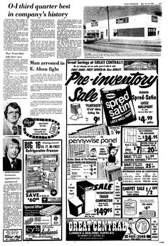 On December 20, 1985, the Alton Telegraph had its HOOD'S
