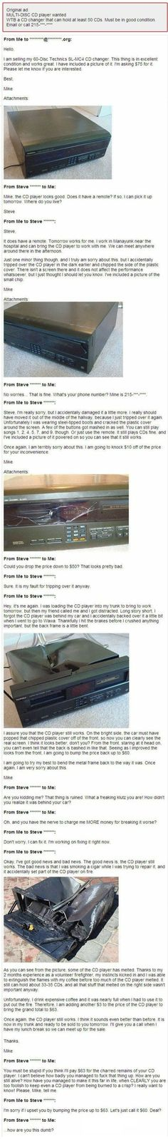 The new CD-player *rofl*