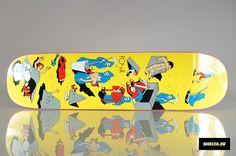 """Polar Skate Co. """"Filling Material"""" P3 Shape 8,375 (Artwork By Jakke Ovgren)"""