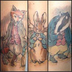 Beatrix Potter tattoos