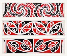 Williams, Herbert William :Designs of ornamentation on Maori rafters. Maori Legends, Maori Symbols, Maori Patterns, Maori Tattoo Designs, Maori Tattoos, Zealand Tattoo, Polynesian Art, Sketch Tattoo Design, New Zealand Art