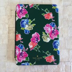 Kate Spade Floral iPad Mini Folio Keyboard Case Beautiful Kate Spade New York floral pattern Apple iPad Mini hardcase folio with attached bluetooth keyboard. Brand new and unused! Comes without box. Please ask if you have any questions. 15% off all bundles! kate spade Accessories Tablet Cases