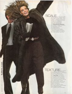 "US Vogue September 1981 ""A Season of Differences..."" 08.jpg~original 459×600 pixels"