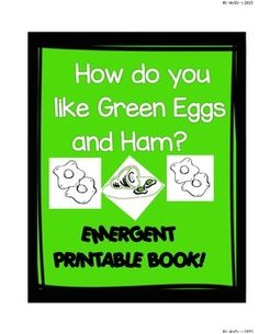page Printable Emergent Leveled Reader with your students or ...