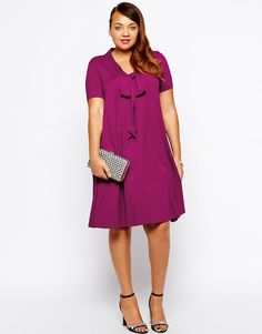 ASOS CURVE | Swing Dress with Short Sleeve