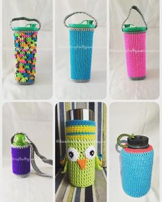 done! crochet water bottle covers. #303rdorder to  #308thorder #handcraftedbyjaniceroajore #crochet #crochetph  #cebu #cebuonline #cebubased #crochetersofinstagram #crochetersofig #crochetaddict #handcrafted #handcraft #handmade #waterbottle #water #bottle #sellersph #ph #sellerscebu #cebu #cebuonlineshop #cebubased by handcraftedbyjaniceroajore