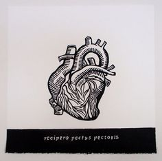 The Receptive Heart Relief Print the by TeresaVillegasPrints, $250.00