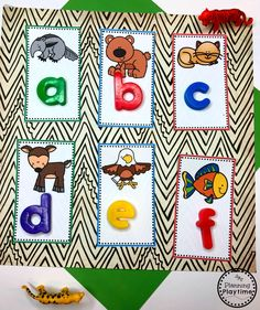 Looking for fun Preschool Zoo Theme Activities for kids? Check out these 16 Hands-On Preschool Zoo inspired Learning Activities and Crafts for Preschool or Kindergarten. Preschool Phonics, Free Preschool, Preschool Worksheets, Preschool Activities, Alphabet Worksheets, Preschool Zoo Theme, Nursery Rhymes Preschool, Educational Activities For Kids, Outdoor Activities For Kids