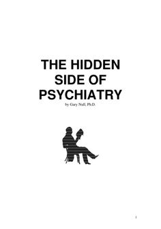 4659536 the-hidden-side-of-psychiatry gary-null-ph-d- by Kim McCullars via slideshare