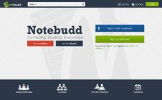 NoteBudd- A platform for sharing notes and Books designed by FATbit Technologies