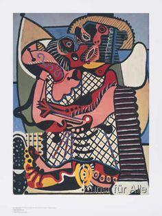 Pablo Picasso - Die Umarmung (Le Baiser)