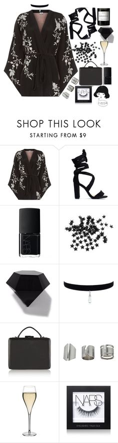 """"""""""" by burcaak ❤ liked on Polyvore featuring Talitha, NARS Cosmetics, INC International Concepts, WALL, Sandro, Topshop, Peugeot, Byredo and Dark"""