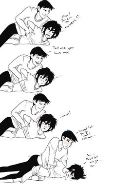 Awwww Tadashi seems so sad in the last picture .