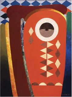 Ode to Kinshasha (1972). Painting by Lois Mailou Jones. Lois Mailou Jones came to fame as a painter during the latter stages of the Harlem Renaissance in the 1930s. In addition to being a painter with many diverse styles, she was a talented textile designer and did a number of book and magazine covers. There's a wonderful website filled with rich imagery and details about her life: http://www.loismailoujones.com/.