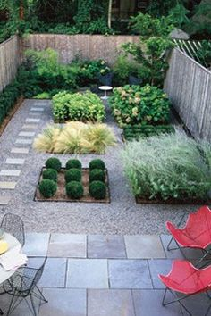 small landscaped garden and paving. #landscaping #garden