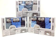 man underwear 3 pairs per box assorted Case of 48