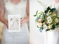 laser cut wedding invitation design