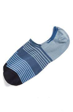 Paul Smith Stripe No-Show Liner Socks | Nordstrom