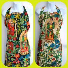 Frida Kahlo aprons ©Mexico Import Arts Australia