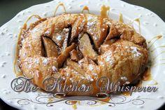 Caramel Apple German Pancake