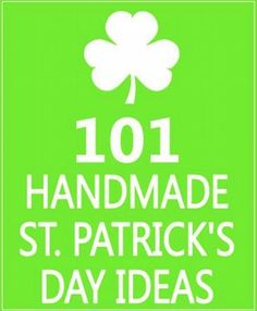 101 Handmade St. Patrick's Day Ideas #lifehacks, #usefultips, https://apps.facebook.com/yangutu