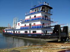 Melody Golding, barge tugboat ~ Dick's Towboat Gallery