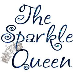 ~Glitter ♥ Girl~ LOVE that font and the special effects and love the sparkling crown <3