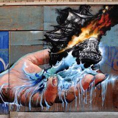 Artist: Jim Vision New York #streetart #art #graffiti