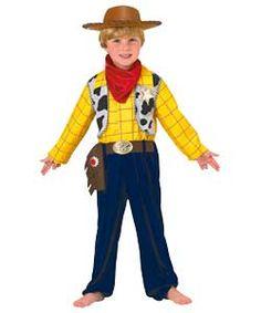 Disney Pixar Toy Story Woody Dress Up Costume - 3 - 4 Years.