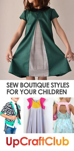 These sewing patterns from UpCraftClub.com will make you look like a boutique…