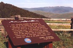 """Lemhi Pass, Continental Divide. On August 12, 1805 when Lewis climbed up and peeked over this ridge he had to have been shocked. He did not see the promised Columbia River or the smooth, open plain leading to the coast. He saw Idaho.  """"With Lewis' last step to the top of the Divide went decades of theory about the nature of the Rocky Mountains, shattered by a single glance from a single man."""" There was no all water route across the continent. It didn't exist. Lewis And Clark Trail, Continental Divide, August 12, Columbia River, Single Men, Hiking Trails, Continents, Rocky Mountains, Idaho"""