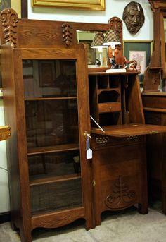 Art Deco Side By Side Desk