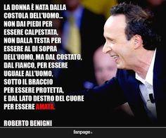 Roberto Benigni e il commento sui dieci comandamenti...!