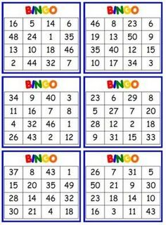 How can you keep Bingo games fun and interesting at your senior facility? Try these three ideas to keep you and your residents interested in a game. From the basics to advanced, you'll find everything bingo here. Bingo Games, Math Games, Math Activities, Spanish Activities, Number Tricks, Polka Dot Classroom, Solar System Projects, Multiplication Facts, Simple Prints