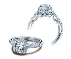 Insignia Cushion Halo Engagement Ring