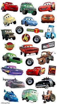 EK Success - Disney Collection - Classic Stickers - Cars