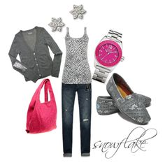Cute casual outfit! I need a pair of toms!