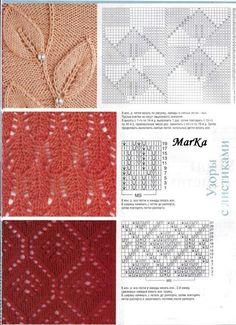 free patterns lace knit stitches
