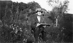 Hermann Hesse painting.