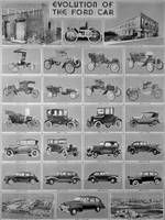 Fordimages.com - 1942 Poster Evolution of the Ford Car from 1903 : Posters and Framed Art Prints Available